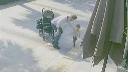 Bebek arabasından düşen çocuğunu dövmüştü: Gözaltına alındı
