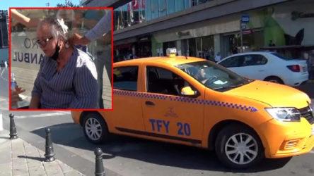 Taksici, yaralı kadını aracına almadı