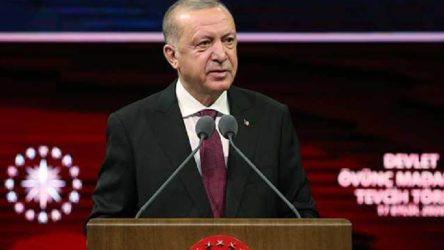Erdoğan: Akdeniz'deki en uzun kıyı şeridine sahip ülkemizi birilerinin sahillerimize hapsetmesine izin vermeyeceğiz