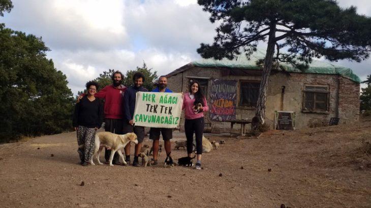 Kazdağları nöbetine baskın: Gözaltına alındılar