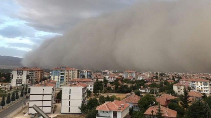 Toz fırtınası bu kez Konya'da | Gazete Manifesto