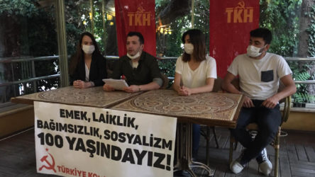 Komünistlerden Eskişehir'de 100. yıl açıklaması