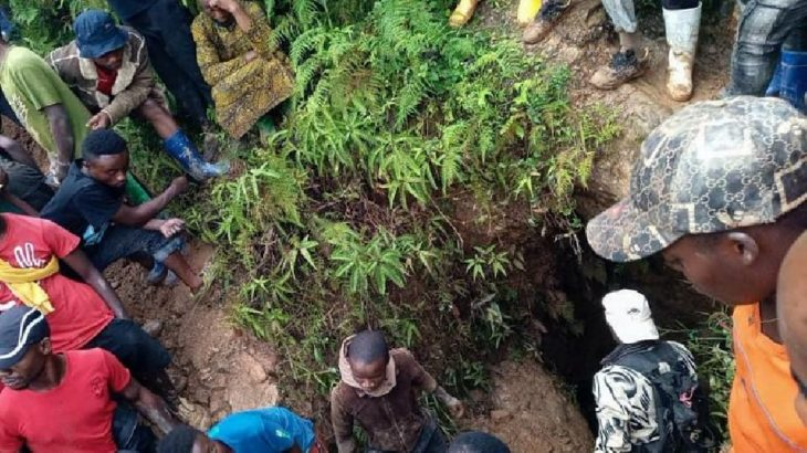 Kongo'da çöken altın madeninde 19 işçinin cansız bedenine ulaşıldı