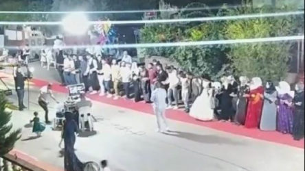 Yasaklar öncesi son korona düğünleri...
