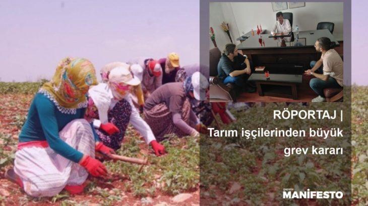 RÖPORTAJ   Tarım işçilerinden Adana, Mersin başta olmak üzere yedi bölgede büyük grev kararı