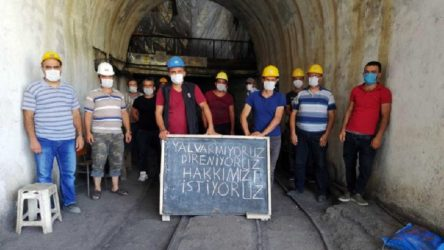 Sınıf Tavrı, hakkını arayan maden işçisinin yanında!