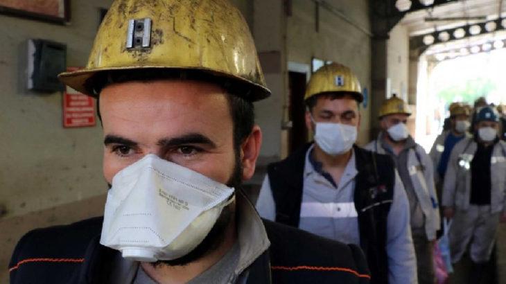 41 madencide koronavirüs, 233 maden işçisi karantinada