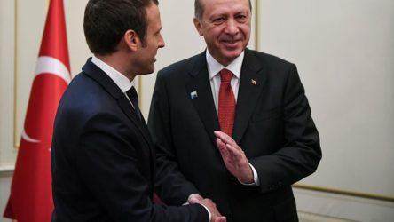 Macron'dan Türkçe mesaj: İlerleyelim