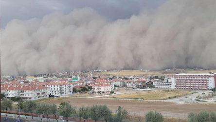 Meteoroloji'den bu kez de Kırıkkale için 'kum fırtınası' uyarısı
