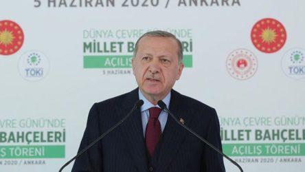 Erdoğan'ın isminin verileceği bir 'Millet Bahçesi' daha duyuruldu