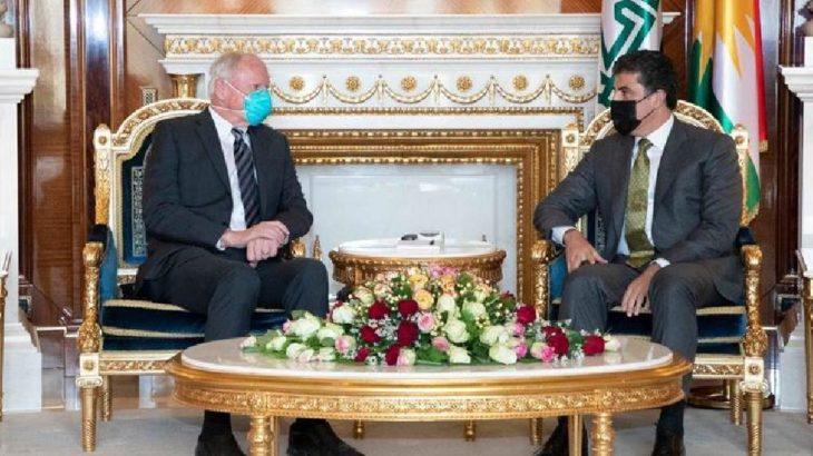 Barzani'den ABD'ye teşekkür