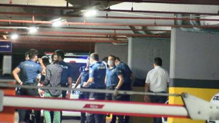 Polis ve özel güvenlik görevlisi bıçaklandı
