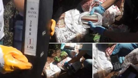Gülencilerin ormana gömdüğü iddia edilen 31 çuval bulundu