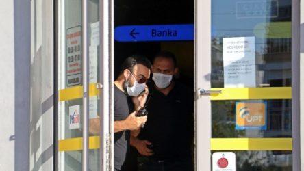 PTT şubesi soyuldu: 'Bankaya borcum var'