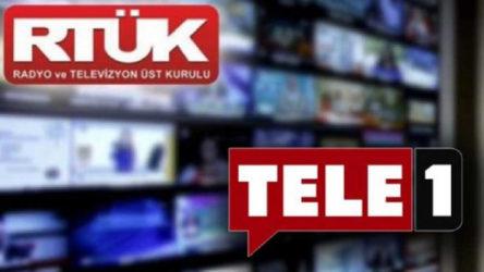 TELE1'e RTÜK sansürü yürürlüğe konuldu: 5 gün ekran kararacak