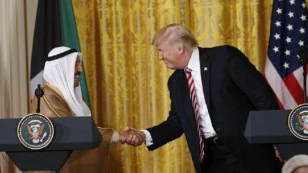Trump Kuveyt Emiri'ni ödüllendirdi