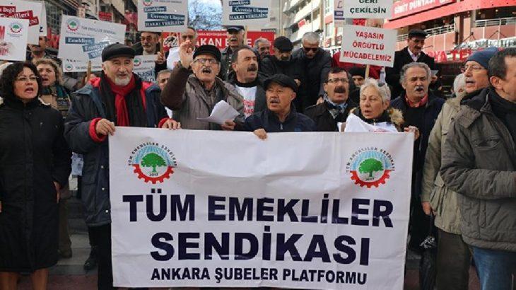 Tüm Emekliler Sendikası mahkeme kararı ile kapatıldı