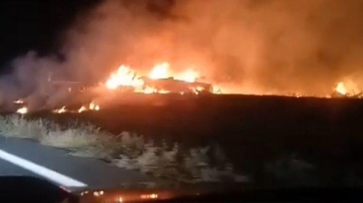 Ukrayna'da askeri nakliye uçağı düştü: 22 ölü