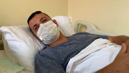 'Maske tak' uyarısı nedeniyle darp edilen sağlık çalışanı: Sol gözüm görmüyor