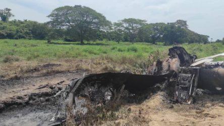 Uyuşturucu taşıyan ABD uçağı düşürüldü