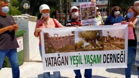 Yatağan'da termik santrale tepki: Köylerimiz Mars'a benzedi