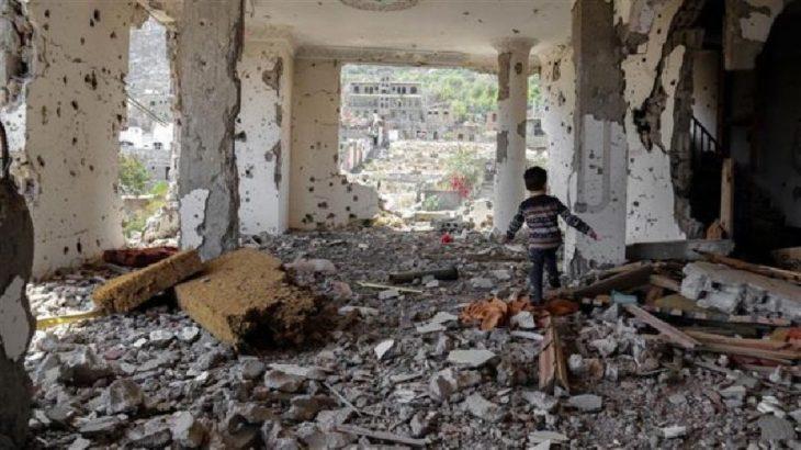 Suudi Arabistan ablukası altındaki Yemen'de eğitim: Çocuklar açık havada çalışmak zorunda kalıyor
