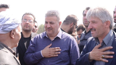 Uyuşturucu baronu Zindaşti İran'da annesinin cenazesinde görüntülendi