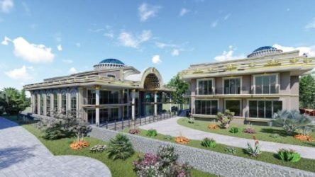 Katar kraliyet ailesi için Yalova'da saray yapılıyor