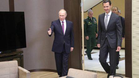 Suriye Devlet Başkanı Esad'dan Moskova'ya sürpriz ziyaret