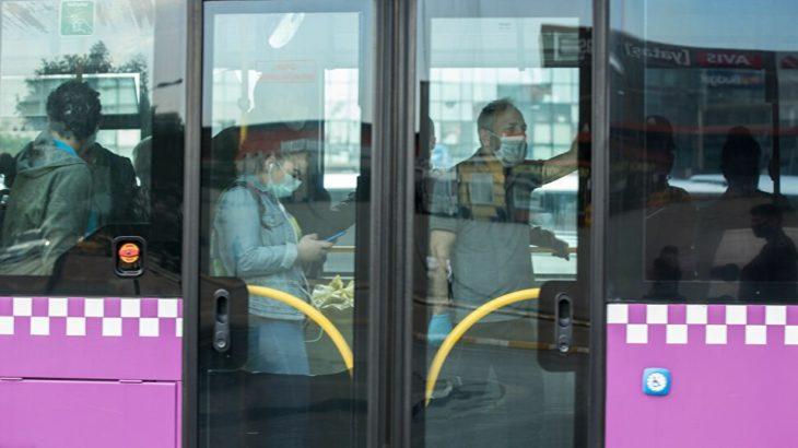 Karantinada olması gereken otobüs şoförü yolcu taşırken yakalandı