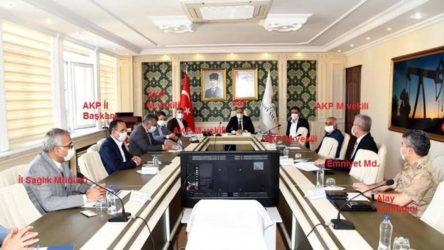 Valinin düzenlediği 'koronavirüs toplantısı'na AKP'liler katıldı, uzmanlar çağrılmadı