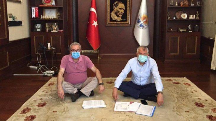 MHP döneminden kalan borçlar nedeniyle belediyeye uygulanan haciz kararı kaldırıldı
