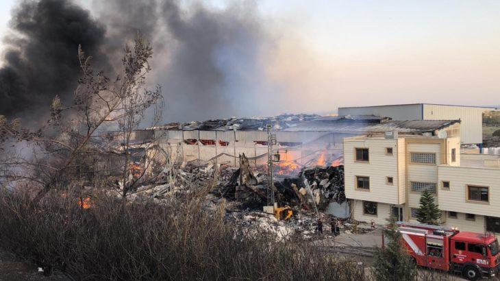 Hatay'daki yangın yerleşim yerlerine sıçradı