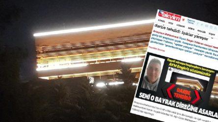 Yandaş gazeteden AYM üyesine tehdit: Seni o bayrak direğine asarlar