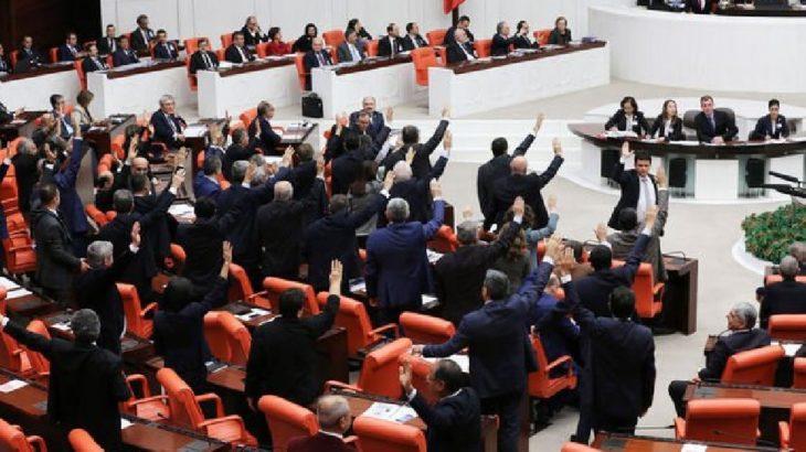 'Dış mihraklar araştırılsın' önergesine AKP ve MHP oylarıyla ret