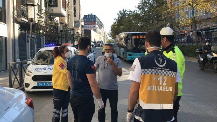 Karantinada olması gerekiyordu... Temaslı şoför Beyoğlu'nda direksiyon başında yakalandı