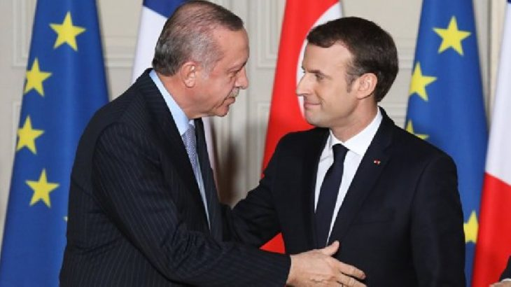Macron'dan 'Türkiye' açıklaması: Gerginlik son birkaç haftadır hafifledi