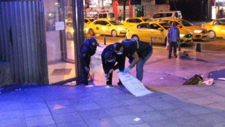 Şişli'de bir bankanın önüne bırakılan çanta paniğe yol açtı