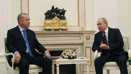 Kremlin'den Putin-Erdoğan görüşmesine ilişkin açıklama