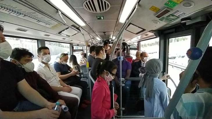 İstanbul'da yeni yasak: 65 yaş üzeri ve 20 yaş altı, toplu taşıma araçlarına binemeyecek