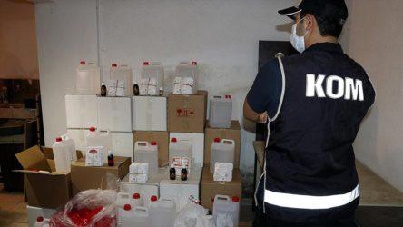 Ölümler sonrası operasyon: İstanbul'da 6 ton etil alkol ele geçirildi