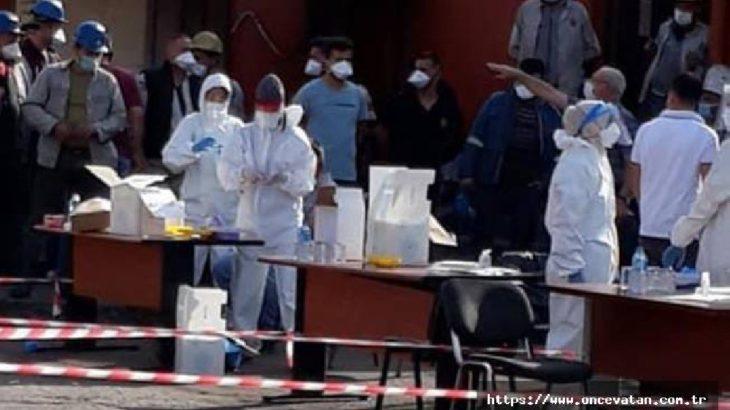 62 maden işçisinde koronavirüs tespit edildi