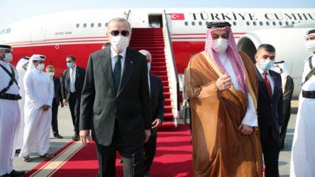 Erdoğan Katar basınına konuştu