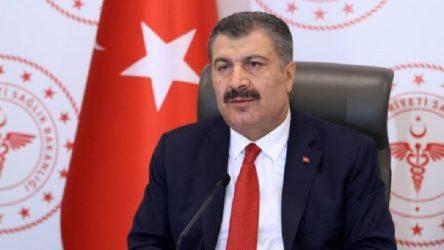 Bakan Koca, Hatay, İzmir, Adana ve Samsun'daki yoğunluk oranlarını açıkladı