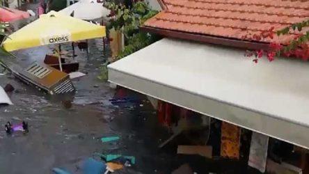 Seferihisar Belediye Başkanı: Açıkta olan balıkçılardan haber alınamıyor, deniz taşmış durumda