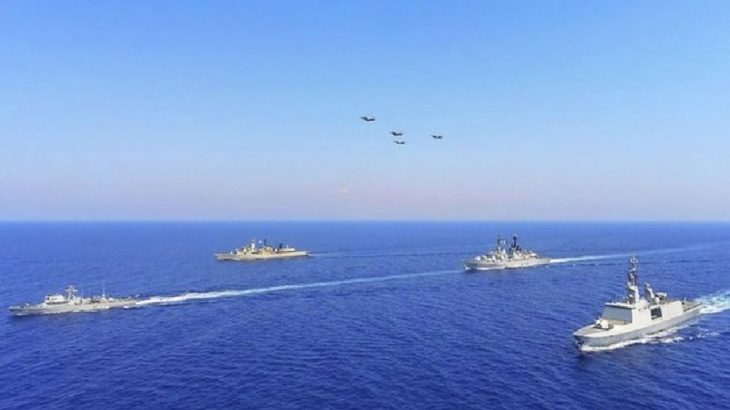 Doğu Akdeniz'de ABD ve Fransız Donanmalarından ortak tatbikat