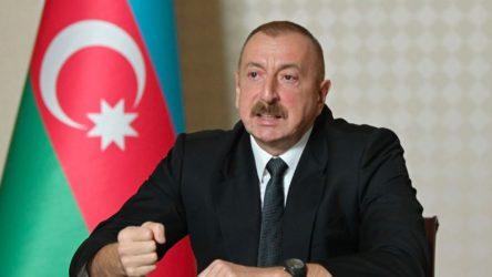 Aliyev: Ateşkes isteyenler silah yardımı yapıyor
