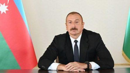 Aliyev: Karabağ'da ateşkese hazırız