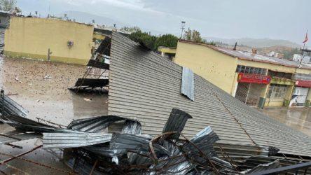 Antalya'da dolu ve fırtına: 1 kişi hayatını kaybetti