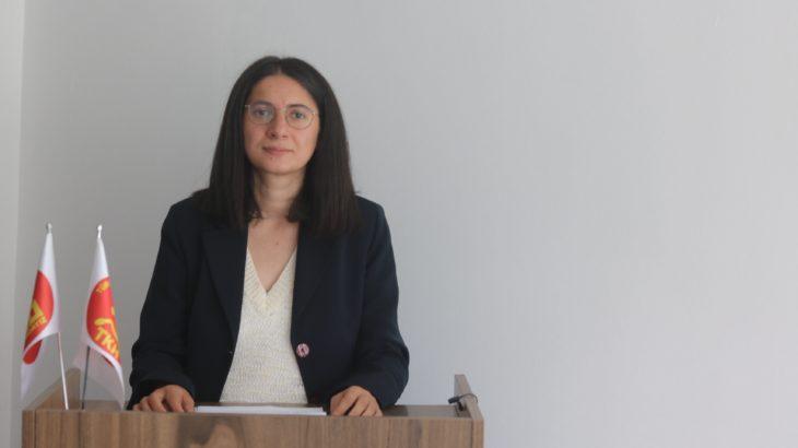 TKH Genel Başkanı Aysel Tekerek: Gerici yuvalanmalara karşı en etkili yol şikâyet değil mücadeledir